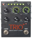 【エントリーでポイント10倍】【純正アダプター付属】Digitech TRIO+ 新品 Band Creator + Looper[デジテック][トリオプラス][ルーパー機能搭載][Effector,エフェクター][動画]
