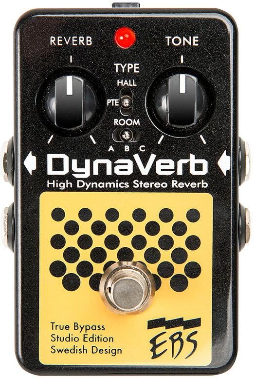 【送料無料】EBS Dyna Verb Studio Edition 新品 ベース用リバーブ[ダイナバーブ][Bass Reverb][Effector,エフェクター]