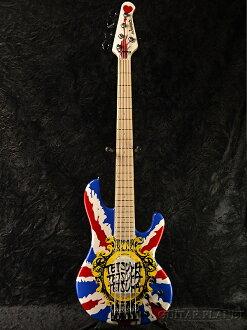 Edwards E-T-180BD UNI新貨[愛德華兹][ESP名牌][國產][L'Arc~en~Ciel,rarukuanshieru,tetsuya,tetsuya][Union Jack,英國國旗][Electric Bass,電子吉他基礎]