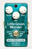 【送料無料】MAD PROFESSOR Little Green Wonder 新品 オーバードライブ [マッドプロフェッサー][リトルグリーンワンダー][Overdrive][Effector,エフェクター]