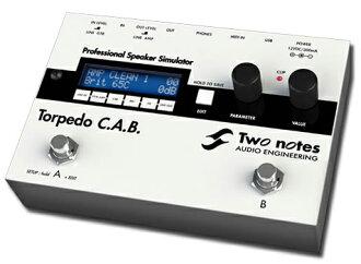 [免運費] 兩個注意到魚雷 C.A.B.新 speakercabinetsimulator [投票] [駕駛室] [模擬器] [效應器和效應器] _otherfx