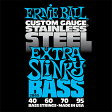 ERNIE BALL 40-95 #2845 Stainless Extra Slinky Bass 新品[アーニーボール][Steel,ステンレススチール][ベース弦,String]