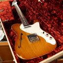 【中古】Fender Custom Shop ~2017 LIMITED EDITION~ 50's Thinline Telecaster Relic ''Rosewood Neck'' -Faded Violin Burst- 2016年製[フェンダー][カスタムショップ][シンライン][バイオリンバースト][テレキャスター][Electric Guitar]【used_エレキギター】