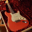 【中古】Fender Custom Shop ~Dealer Select~ TBC ''Custom22F'' 1962 Stratocaster Heavy Relic -Aged Fiesta Red- 2014年製[フェンダ..