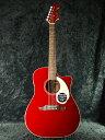 【送料無料】Fender Sonoran SCE V2 CAR 新品 キャンディアップルレッド[フェンダー][ソノラン][Candy Apple Red,赤][Electric Acoustic Guitar,アコースティックギター,エレアコ]