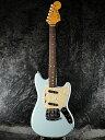 【ERNIE BALL4点セット付】【送料無料】Fender Japan Exclusive Classic 60s Mustang DBL (旧型番:MG65) 新品 ダフネブルー[フェンダ..