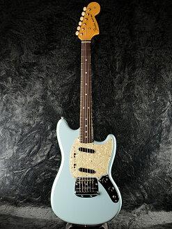 Fender Japan Exclusive Classic 60s Mustang DBL(老型號:MG65)新貨dafuneburu[擋泥板日本][北美野馬][Daphne Blue,藍,淡藍色][Electric Guitar,電子吉他]