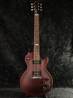 全新的 Gibson Les Paul 旋律製造商 2014年酒紅色緞 [吉布森],旋律製造商酒紅色緞、 紅色 LP,Les Paul 電吉他,電吉他