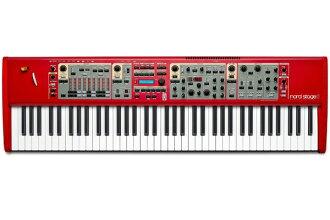 Clavia Nord Stage2 HA76 全新 76 鍵 [鍵盤、 節點階段,76 鍵盤合成器,合成器鍵盤、 鍵盤