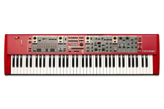 Clavia Nord Stage2 SW73 全新 73 鍵 [鍵盤、 節點階段,73 鍵盤合成器,合成器鍵盤、 鍵盤
