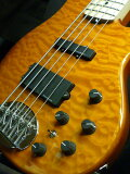 【】Lakland SK-5 Deluxe T.AMB/M アンバー 新品 SK-5DX[レイクランド][デラックス][Amber,琥珀,黄][エレキベース,Electric Bass]