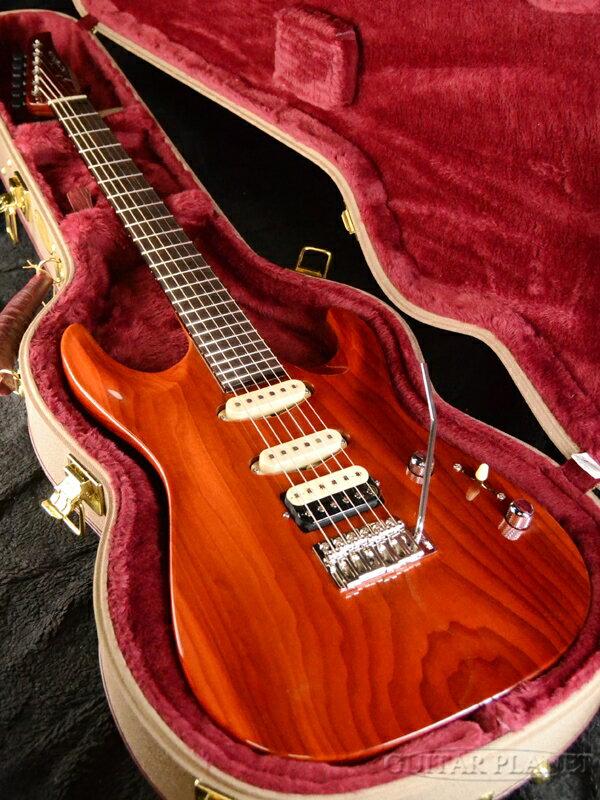 Marchione Uni Body Carve Top -Torrefied Poplar / Trans Brown- 新品[マルキオーネ][トランスブラウン][ユニボディ][カーブトップ][Stratocaster,ストラトキャスター][Electric Guitar,エレキギター]