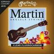 Martin .0191-.0340 M-600 Ukulele Standard ソプラノ&コンサート用[マーチン弦][スタンダード][Soprano,Concert][弦,String][フロロカーボン]