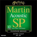 Martin 10-47 MSP-4600 Extra Light 12弦ギター用[マーチン弦][エクストラライト][フォスファーブロンズ弦][アコースティックギター弦,..