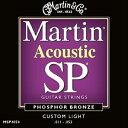 Martin 11-52 MSP-4050 Custom Light[マーチン弦][カスタムライト][フォスファーブロンズ弦][アコースティックギター弦,String]