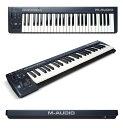 【エントリーでポイント10倍】M-AUDIO Keystation 49 新品[エムオーディオ][キーステーション][MIDI Controller][MIDIキーボード,Keybo..
