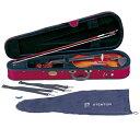 【弓/松脂/ケース付】STENTOR SV-180 4/4 新品 バイオリンセット[ステンター][Violin,