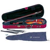 【弓/松脂/ケース付】【送料無料】STENTOR SV-180 1/4 新品 バイオリンセット[ステンター][Violin,ヴァイオリン][初心者/入門用][分数]