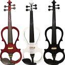 【弓/松脂/ケース付】KIKUTANI ESV-380 新品 エレクトリックバイオリン キクタニ Brown,White,Black Electric Violin,エレキバイオリン