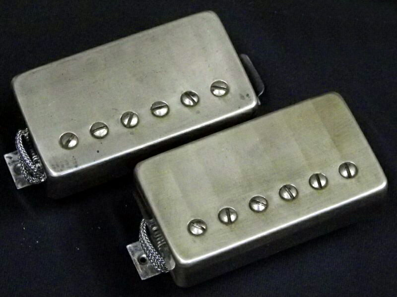 "Bare Knuckle ""Mule"" Nickel Aged Set brand new [bare-knuckle], [nickel] aged processing [Humbucker, humbuckers, Pickup, pickup"