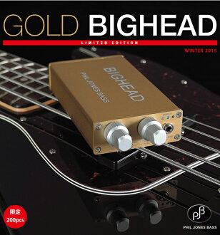 菲爾 · 鐘斯低音鱅魚黃金品牌基於新的耳機放大器 [PJB,菲爾 · 鐘斯] [鱅魚、 鱅魚] [淘金] [低音放大器]