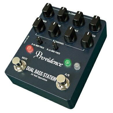 【送料無料】Providence DUAL BASS STATION DBS-1 新品 ベース用プリアンプ[プロビデンス][デュアルベースステーション][Bass Preamp][エフェクター,Effector]