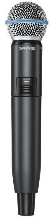 【送料無料】【正規品】SHURE GLXD2/BETA 58A 新品 ワイヤレスマイク[シュアー][ハンドヘルド型送信機][Wireless Microphone]
