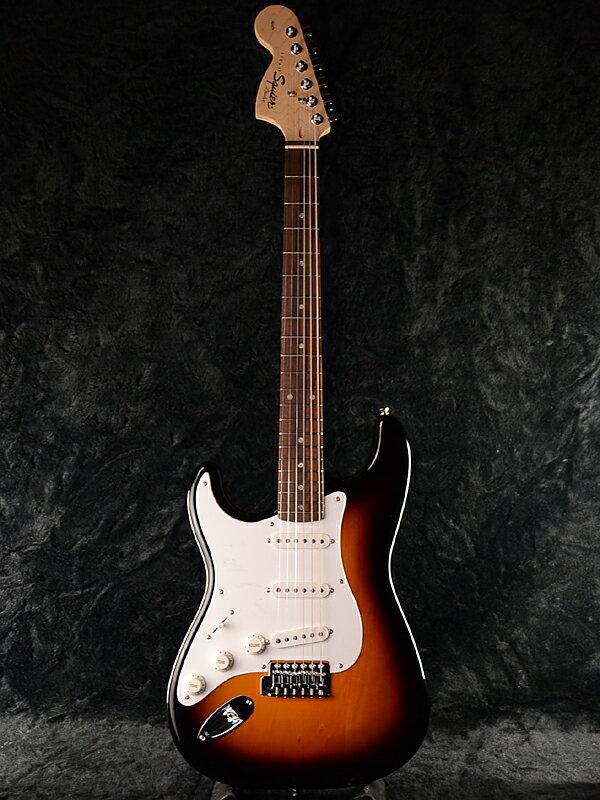 【送料無料】Squier Affinity Stratocaster Left Hand BSB 新品 ブラウンサンバースト[スクワイヤー][ストラトキャスター][Lefty,レフティ,左用][Brown Sunburst][Electric Guitar,エレキギター]