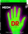 DR NEON Bass Strings NGB45 Green Medium ベース弦[ネオン][コーティング弦][グリーン,緑][ミディアム]