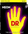 DR NEON Bass Strings NYB45 Yellow Medium 45-105 ベース弦[ネオン][コーティング弦][イエロー][ミディアム]