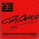 R.Cocco 45-100 RC 4F STAINLESS STEEL 4弦[リチャードココ][ステンレスラウンドワウンド][ベース弦,String]