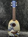 Luna Guitars UKE-GWS 新品 ソプラノウクレレ[ルナ][Grate Wave,グレートウェーブ][葛飾北斎][Soprano Ukulele]