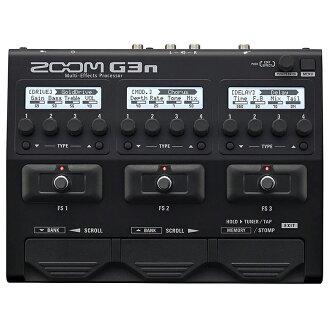 放大變焦 G3n 多效果處理器全新多效應器,multivector [amp 模擬器] [效應器和效應器]