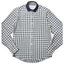 【20%OFF】Casely Hayford(ケースリーヘイフォード)ポロカラー クレリック タータンチェックシャツ