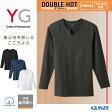 GUNZE(グンゼ)/YG/キーネック9分袖シャツ(紳士)/YV0211P