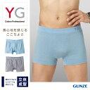 グンゼ YG ボクサーパンツ 3D 立体成型 綿混 GUNZE YG ボクサーブリーフ(前とじ)(紳士)/YV3181