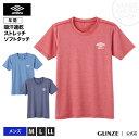 umbro - GUNZE(グンゼ)/umbro(アンブロ)/Tシャツ(丸首)(紳士)/年間シャツ/UBS513B