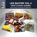 現代 - 輸入盤 LES BAXTER / EIGHT CLASSIC ALBUMS VOL. 2 [4CD]