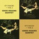 爵士 - エディ・ヒギンズ&スコット・ハミルトン&ケン・ペプロフスキー(p/ts/ts、cl) / The Best Coupling Series:: イッツ・マジック〜vol.1/イッツ・マジック〜vol.2 [CD]