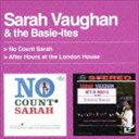 [CD] サラ・ヴォーン/ノー・カウント・サラ+アフターアワーズ・アット・ザ・ロンドン・ハウス