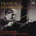 古典 - [CD] ジョン・バルビローリ/フランク: 交響曲 ニ短調