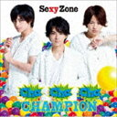 Sexy Zone / Cha-Cha-Cha チャンピオン(通常盤)