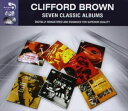 [CD]CLIFFORD BROWN クリフォード・ブラウン/SEVEN CLASSIC ALBUMS【輸入盤】
