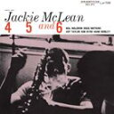 Other - [CD]JACKIE MCLEAN ジャッキー・マクリーン/4 5 AND 6【輸入盤】