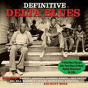 Gospel - 輸入盤 VARIOUS / DEFINITIVE DELTA BLUES [3CD]