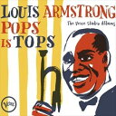 Other - 輸入盤 LOUIS ARMSTRONG / POPS IS TOPS: THE VERVE STUDIO ALBUMS [4CD]