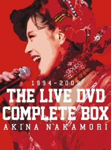 [DVD] 中森明菜 THE LIVE DVD COMPLETE BOX