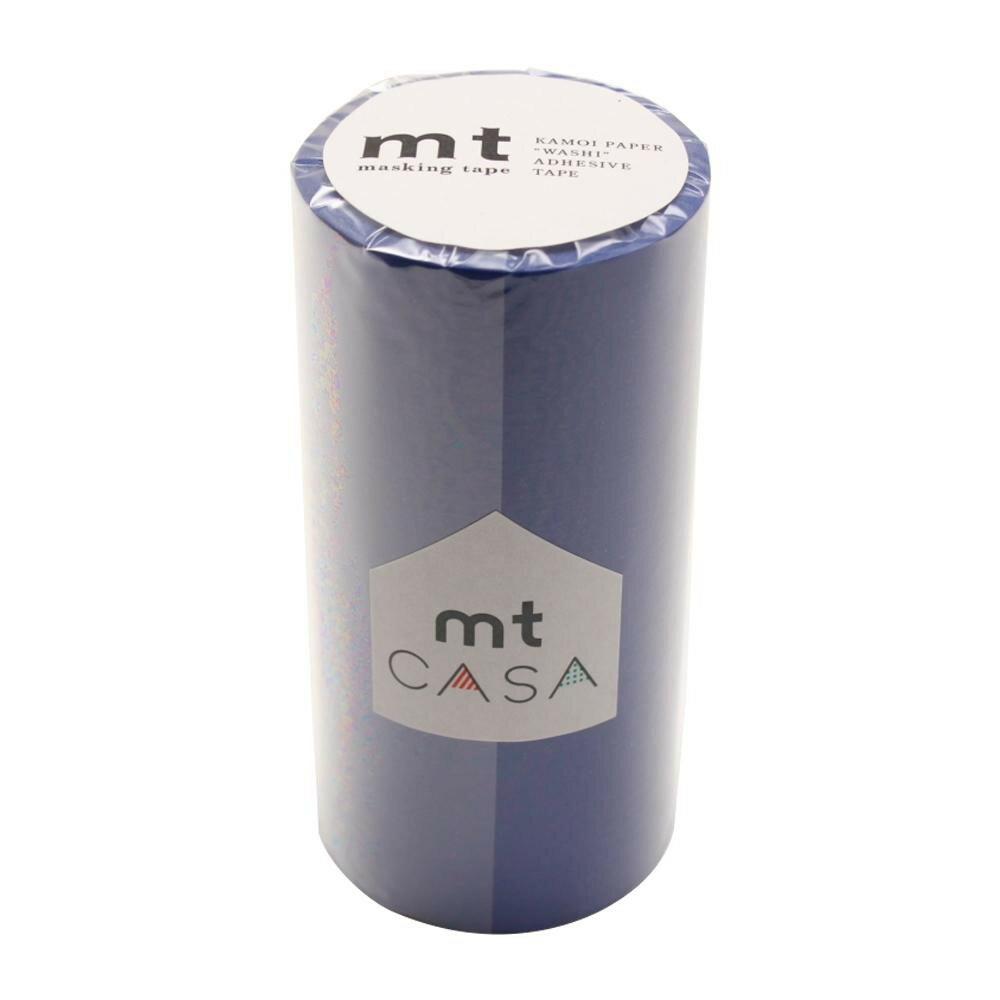 【ネコポス不可】mt CASA マスキングテープ 100mm幅×10m巻き 瑠璃 MTCA1055【A】【キャンセル・返品不可】