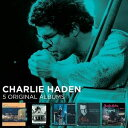 其它 - 輸入盤 CHARLIE HADEN / 5 ORIGINAL ALBUMS (LTD) [5CD]
