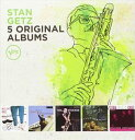 現代 - 輸入盤 STAN GETZ / 5 ORIGINAL ALBUMS (LTD) [5CD]